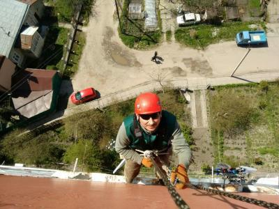 Construction-related case story: project completed for a rope access operation company
